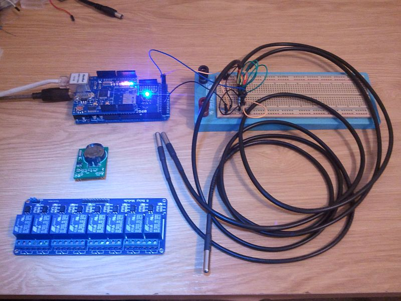 Andre s web enabled arduino controller marine aquariums