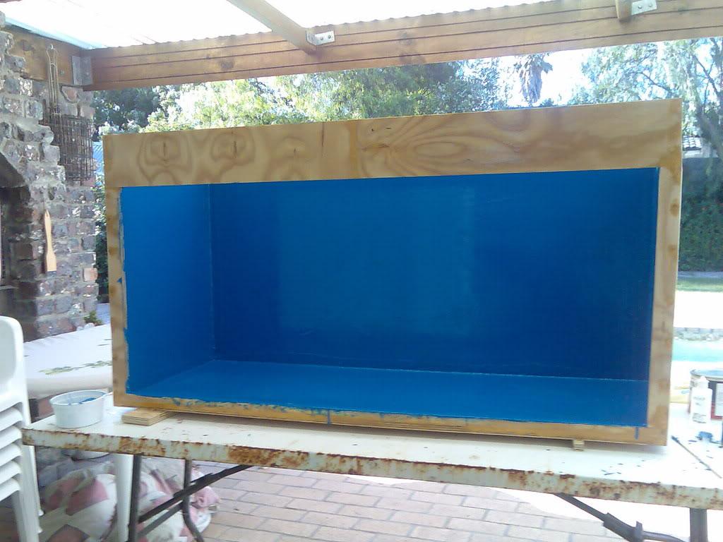 Plywood Aquarium Diy Marine